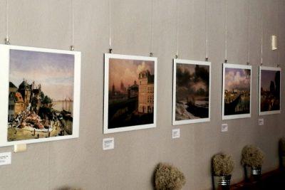 Ausstellung mit Stadtansichten von Alt-Deutz